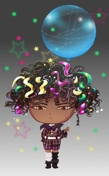 {OPEN}$7: Starry Day Chibi