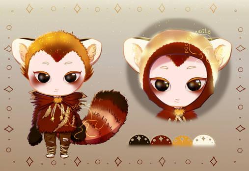 {OPEN}$10/10000p: Amber Panda