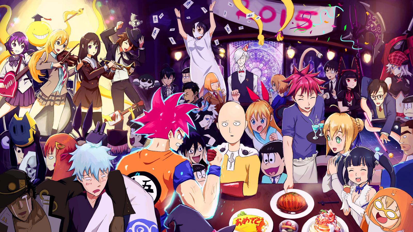 2015 Anime by QOSiC