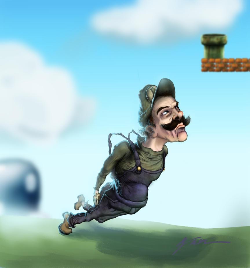 Luigi jpg by RubberGardener