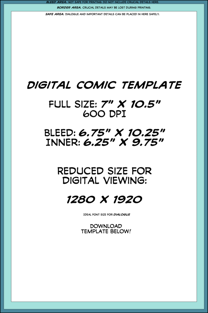 Digital comic page template by theinkyway on deviantart digital comic page template by theinkyway maxwellsz