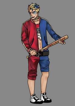 Suicide Squad -Genderbend Harley Quinn