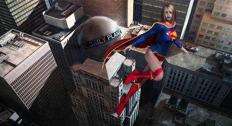 Supergirl by jhv27