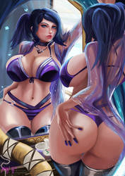 Commission | Cynthia - Fire Emblem Awakening by MiraiHikariArt