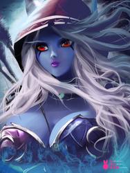 Commission   Sylvanas   Warcraft by MiraiHikariArt