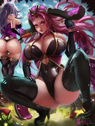 Bunny Queens | Spring Loki | FE HEROES by MiraiHikariArt
