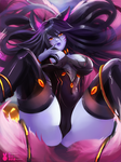 Demon Fox Ahri   League of Legends by MiraiHikariArt