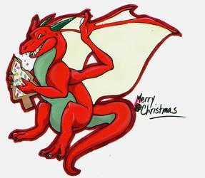 Christmas dorgon by MilkHermit