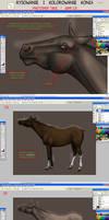 TUTORIAL - Rysowanie i Kolorowanie Konia  CZ.4
