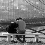 Love Over The City 2 BW
