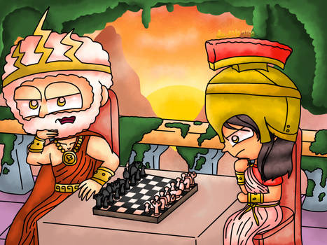 Poptropica - Chess Playing