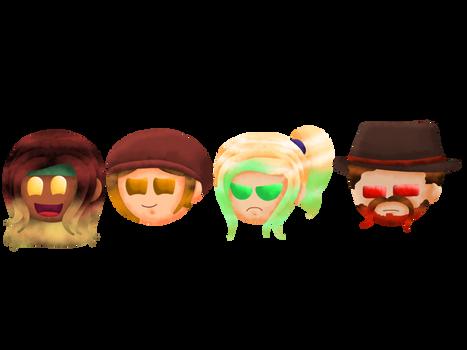 Poptropica OC - Adventurers And Hunters