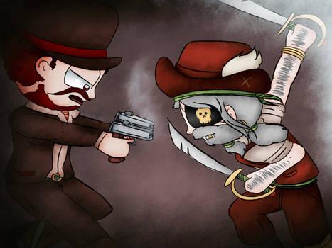 Poptropica - Captain Crawfish Versus Red Hunt