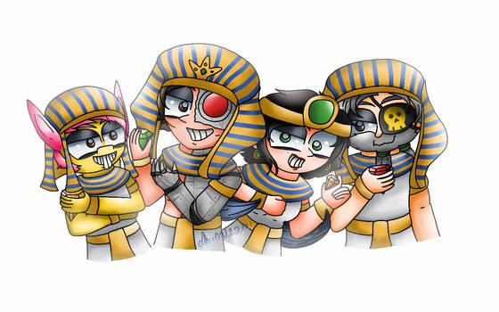 Poptropica - Egyptian Villains