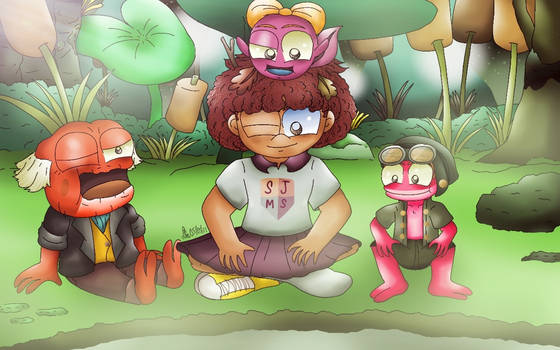 Amphibia - Anne and the Plantars