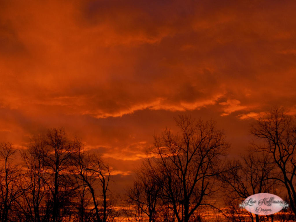 Red sky by morning by lisahuffman2001