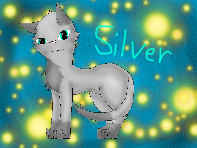 Silver by Blue-Ink-Splatter