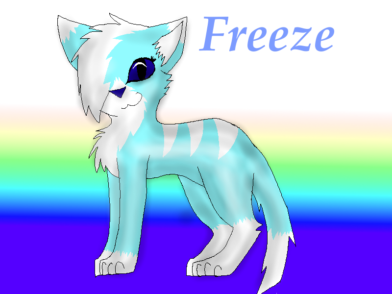 Freeze! c: by Blue-Ink-Splatter