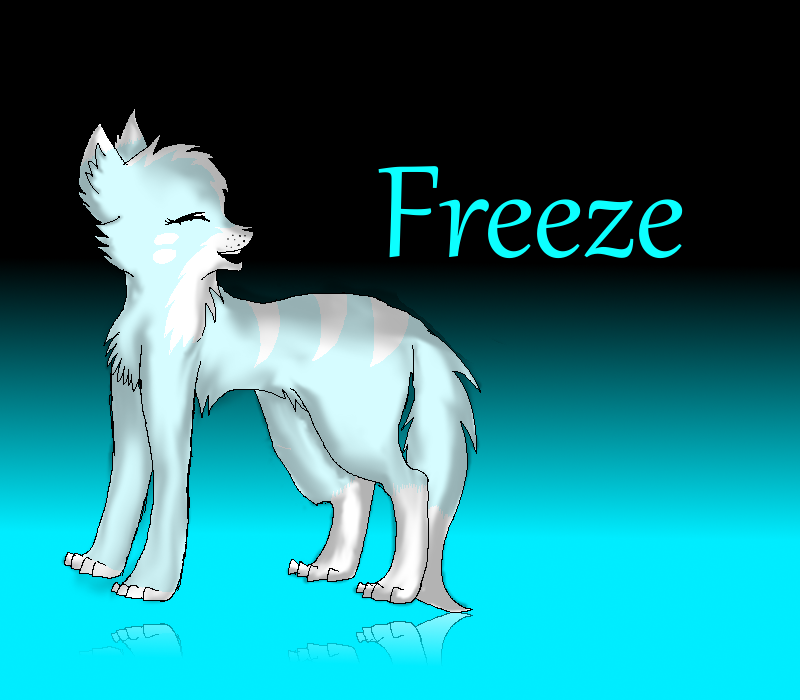 ~Freeze~ by Blue-Ink-Splatter