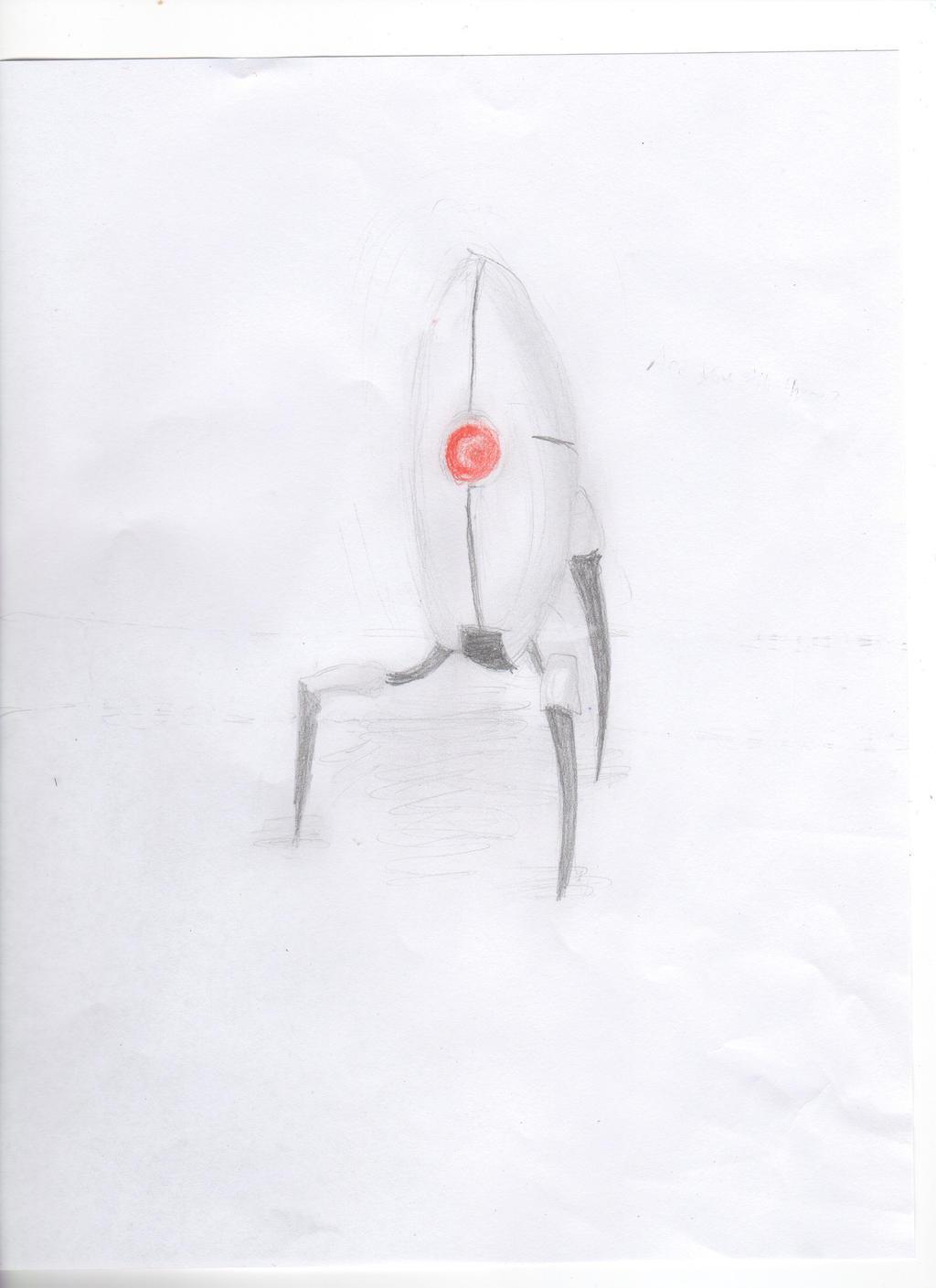 Turret by Blue-Ink-Splatter