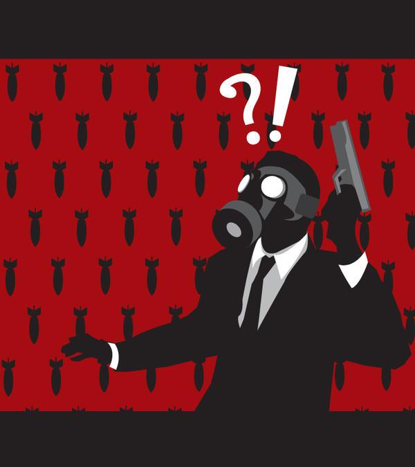 Gas Mask man 2 by CrimsonStar6