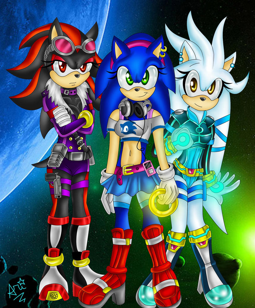 Opinion sonic shadow and silver as girls opinion