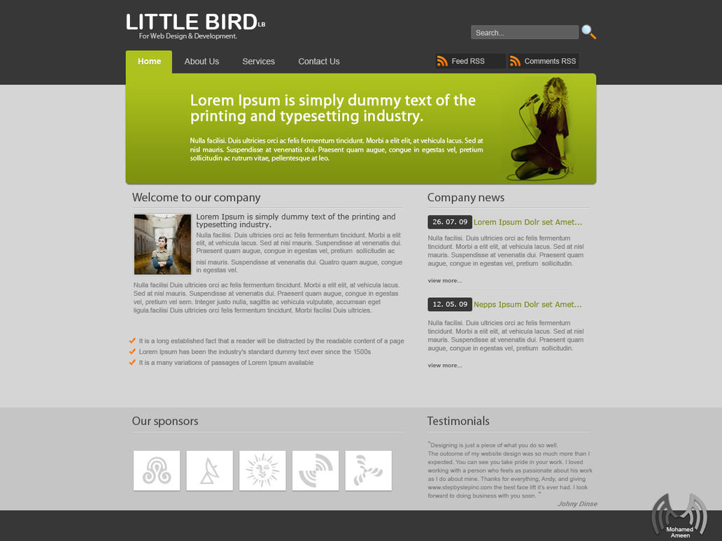 Business Template by abodemous