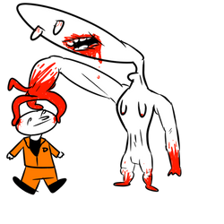 SCP-096 is a good boye by Jimminy-Crocket