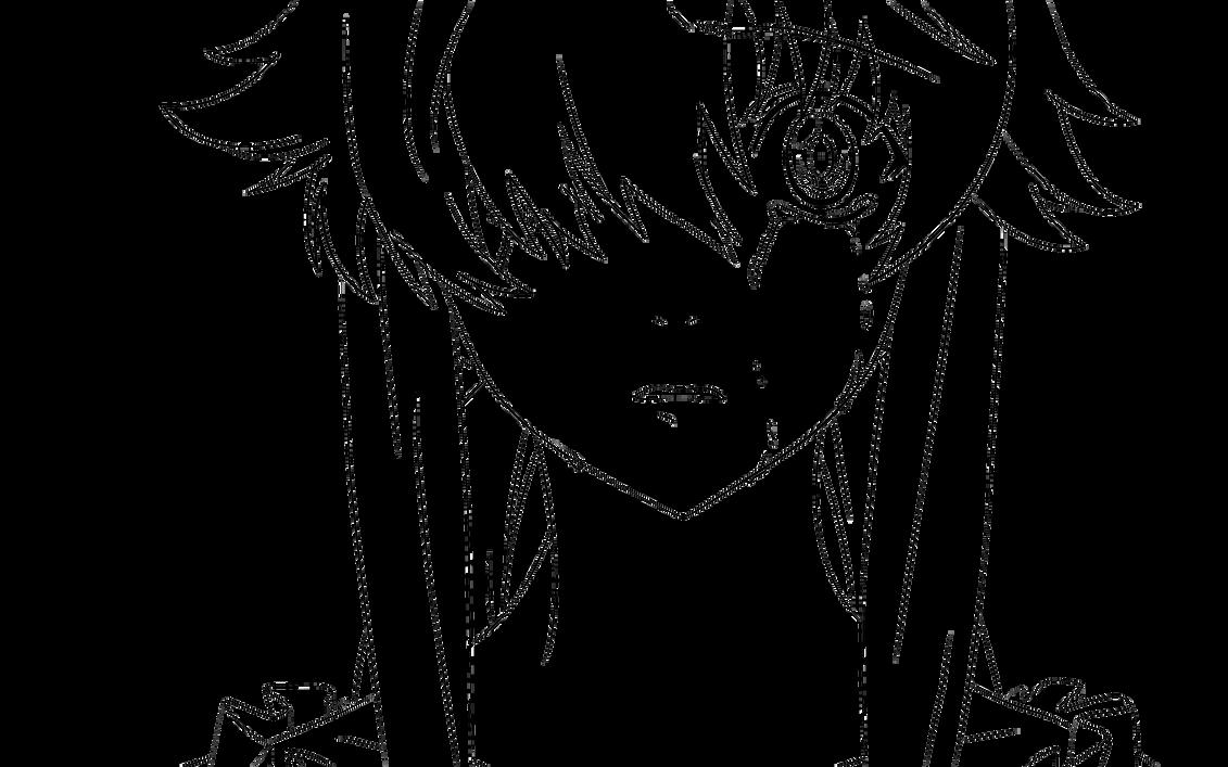 Rias Gremory Para Colorear: Gasai Yuno Vector By ReaperOfEternity On