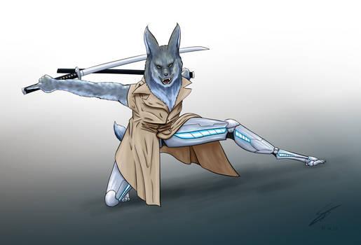 FanArt - Lupin CyberPunk Samurai