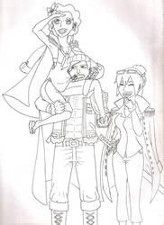 Sayuri, Smoker and Tashigi