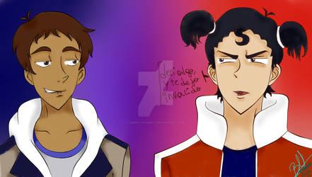 Lance Y Keith - Voltron (netflix)