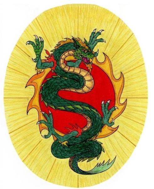 Jade dragon tattoo by dogdarko on deviantart for Jade dragon tattoo