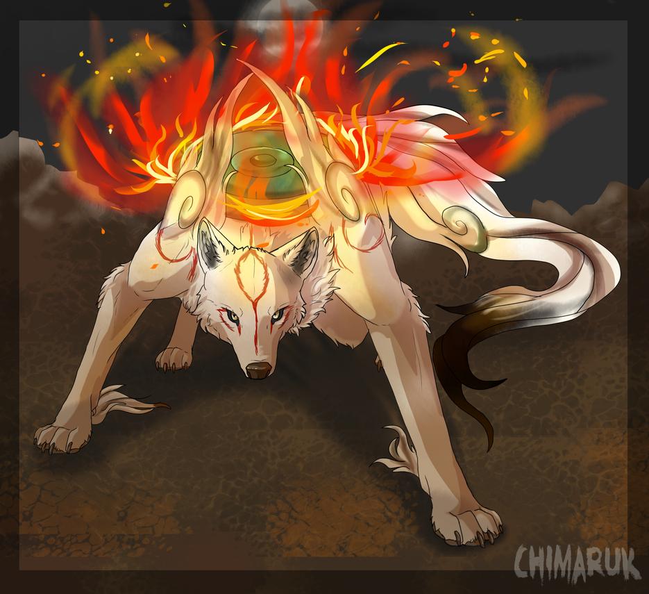 -FanArt- The sun goddess by Chimaruk