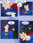 SUPERMAN E BATMAN -  PIADA