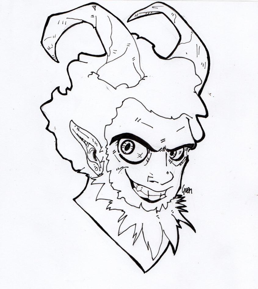 Satiro friend by Gwendm
