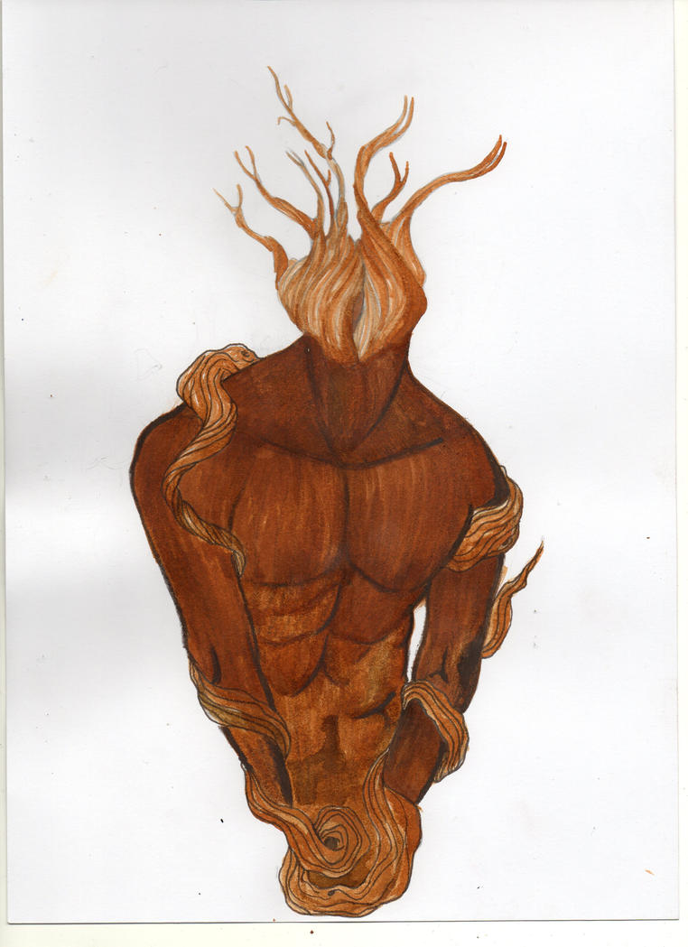 Tree man by Gwendm