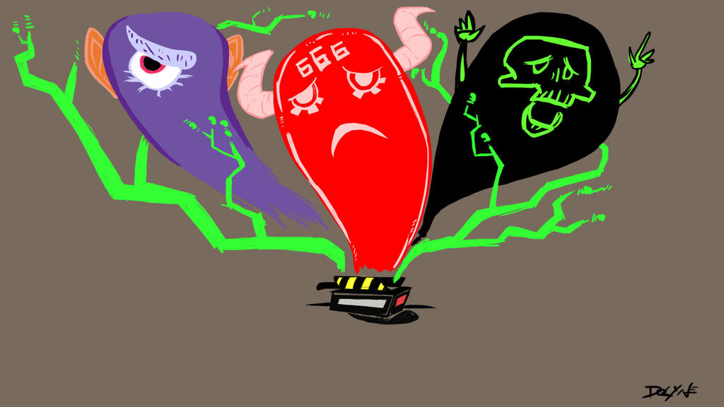 Ghostbuster by Gwendm