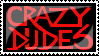 Crazy Dudes stamp by Cherille