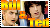 Bill and Ted stamp by Cherille