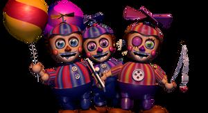 [FNAF/C4D] Balloon Gang
