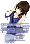 Headphone Girl Rainmeter
