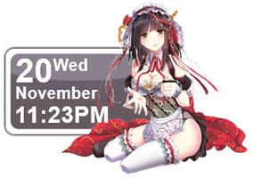 Maid Girl Calendar by Kaza-SOU