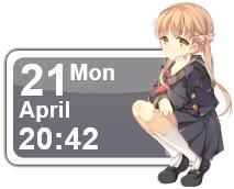 Seifuku Girl 4 Calendar by Kaza-SOU