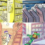 [practice]Turtles in library