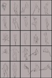 Gestures 1/4/13 by Spork-