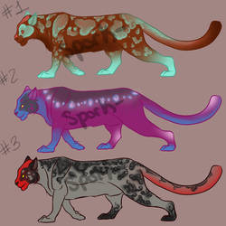 Big Cat Adopts 2 by Spork-