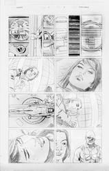 elaektra...pencils by titanfalls
