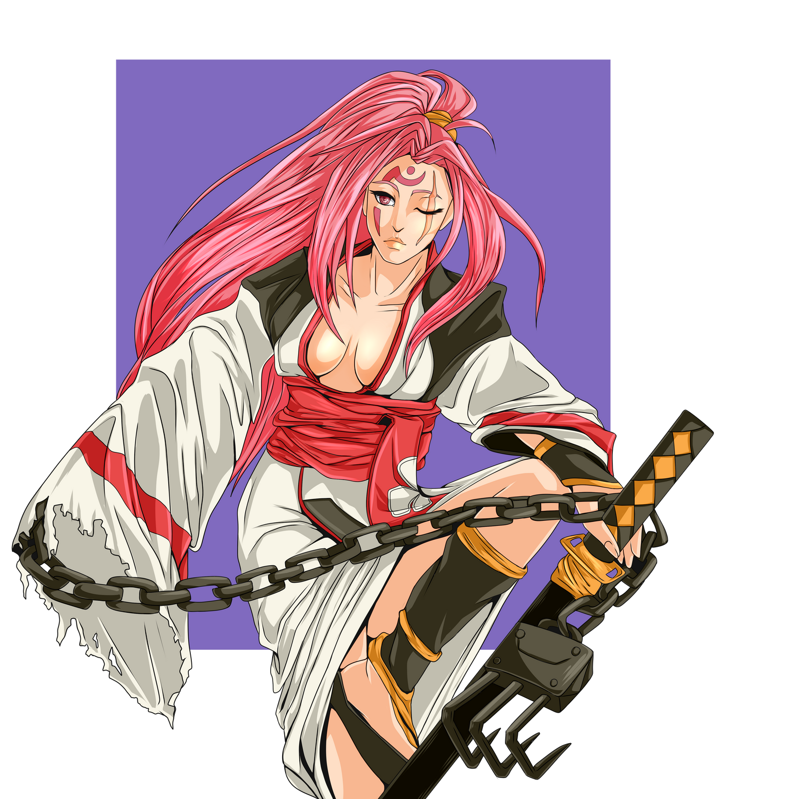 Guilty Gear Wallpaper: Baiken By MalkyTea On DeviantArt