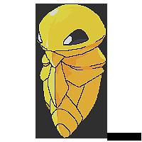 Kakuna Pixel Art by x11tiggers